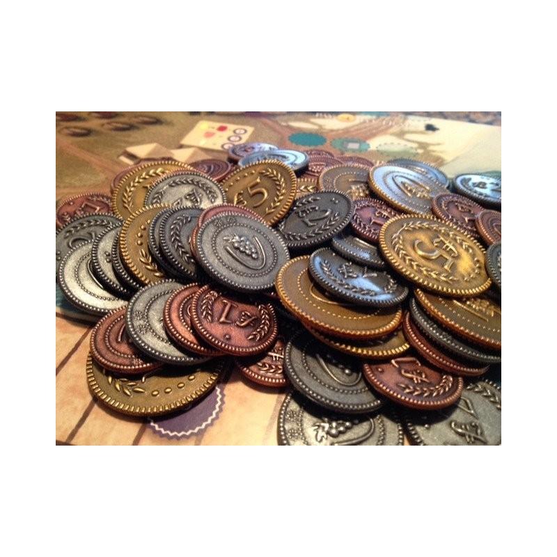 Viticulture - Monedas Metalicas