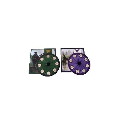 Scythe Promo 8 - 2 Diales de poder promocionales