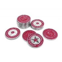 Scythe: monedas $5 rojas (x15)