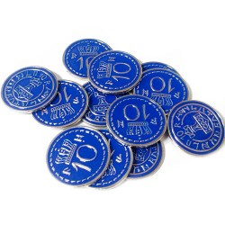 Scythe: monedas $10 (x15)