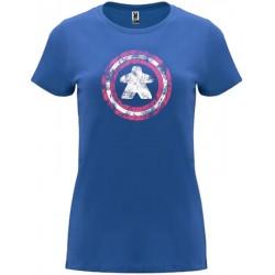 Camiseta Mujer Capitán Meeple