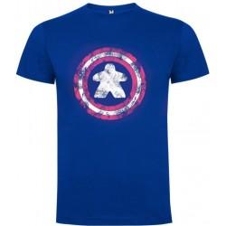 Camiseta Hombre Capitán Meeple