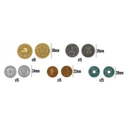 [Pre-Order] Scythe + Promos + 80 Monedas Metalicas