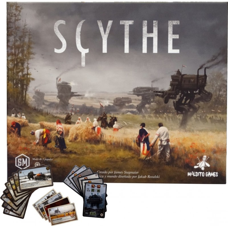 [Pre-Order] Scythe + Promos